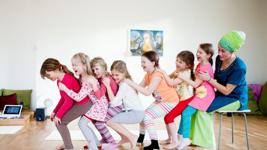 Laste jooga tunni sisu