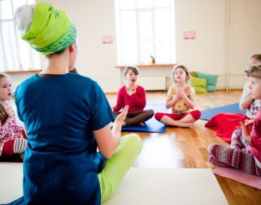 Children's yoga camps