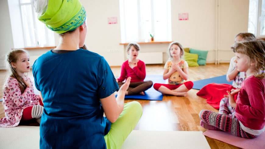 Children's yoga camps