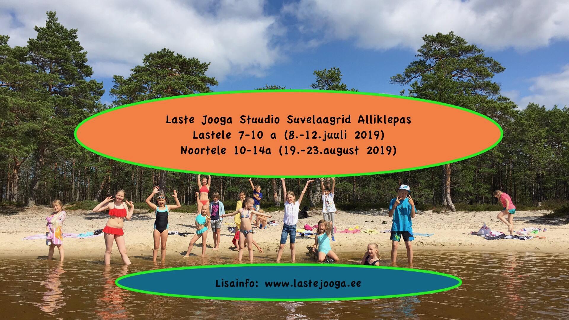 56c0227207e Laste ja noorte suvelaager 2019 - Laste jooga
